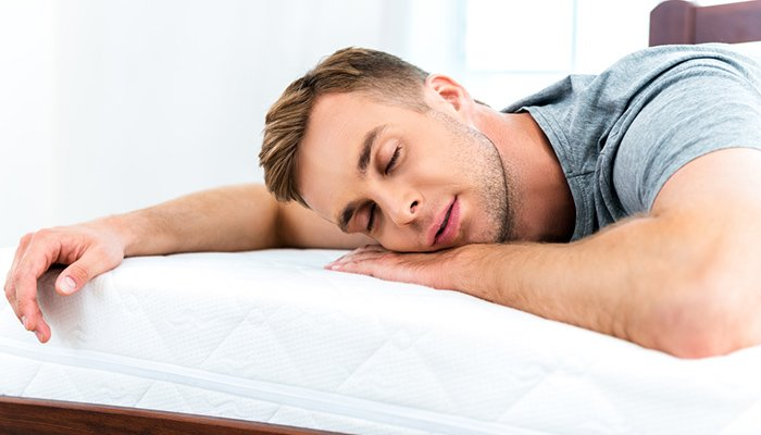 how to fall asleep when sick good mattress