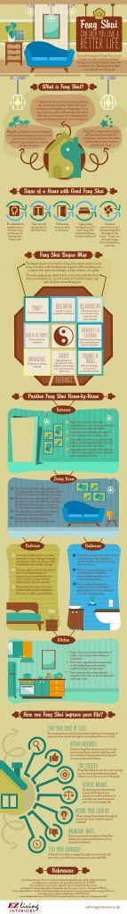 improve your life with feng shui infographic