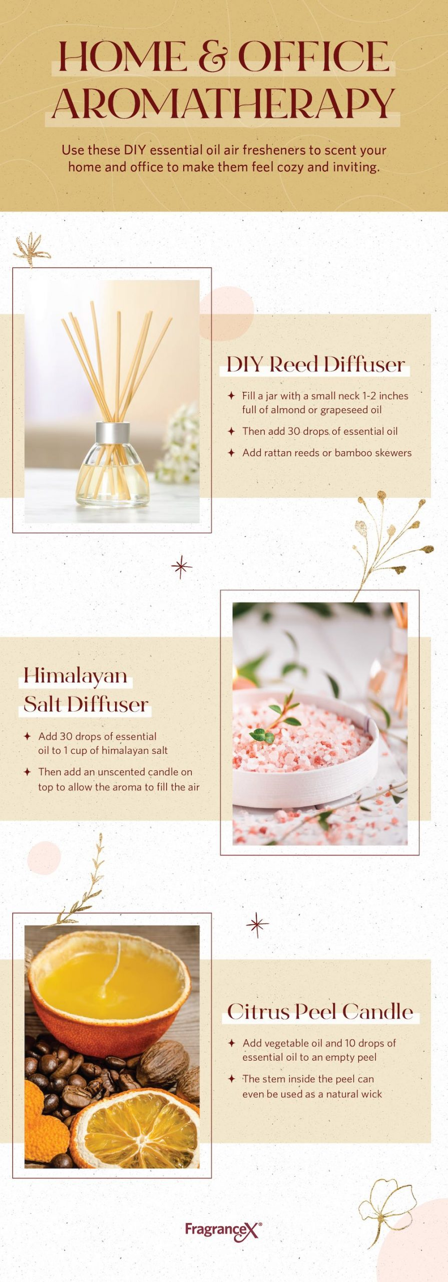 Make Your Own Essential Oil Air Fresheners